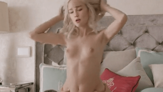 Karlie Kloss Riding on Cock