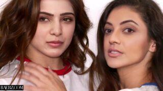 Kajal Aggarwal & Samantha Ruth Prabhu (Deepfakes) Threesome Fuck