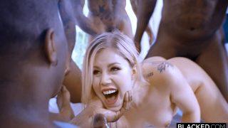 Naked celeb Katherine Ryan has fun with 4 BBC deepfake (gangbang)
