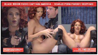 Scarlett Johansson Black Widow cosplay & crazy fuck [Fakeapp Porn]